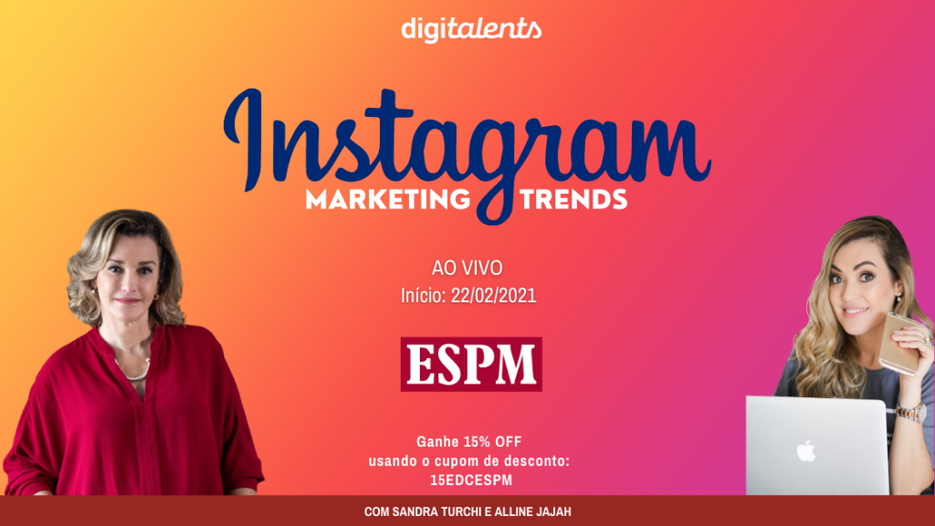 Curso online explora as técnicas para performar no Instagram